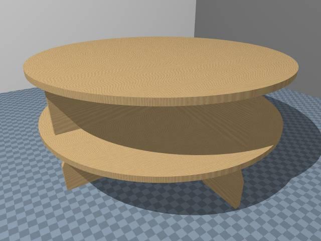 Dollhouse Display Table